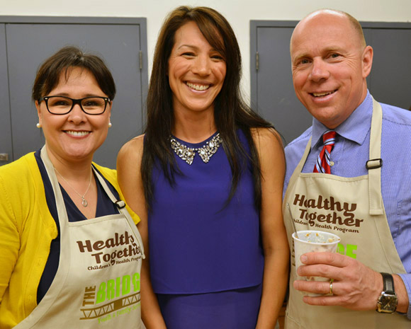 Leona Aglukkaq, Mary Jung and Ron Cannan
