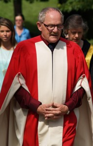 Poet Patrick Lane was awarded an honourary doctoral degree at UBC's Convocation on Thursday.