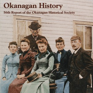 Okanagan Historical Society annual report cover illustration. Courtesy of the Okanagan Historical Society/UBC Library