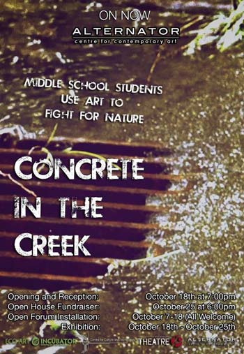 Concrete in the Creek
