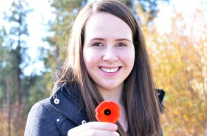 Sarah McIntosh is passionate about the importance of remembering all soldiers, regardless of uniform, who have fought for their country. During UBC's Remembrance Day ceremony, she will speak about her experiences as a guide at the Vimy and Somme battlegrounds in France.
