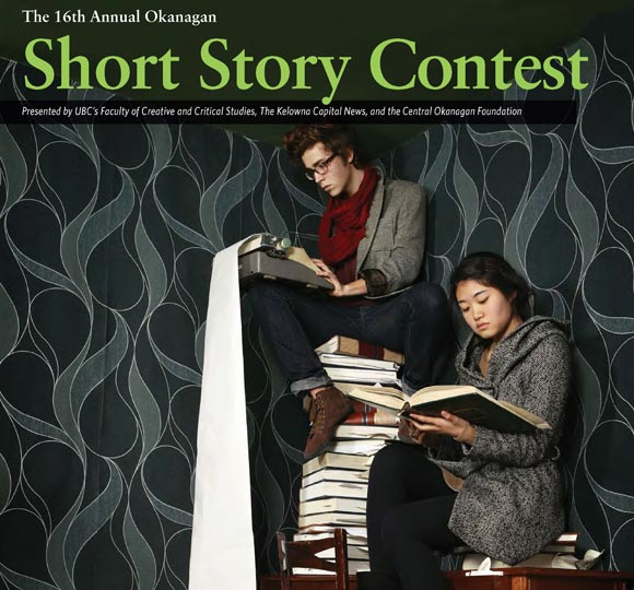16th annual Okanagan Short Story contest poster