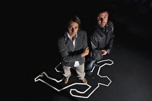 Forensic psychologists Michael Woodworth, left, and Stephen Porter.