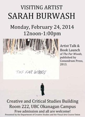 Sarah Burwash poster