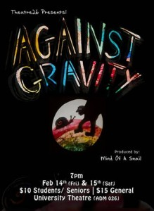 Against Gravity comes to UBC Theatre on Feb. 14-15