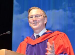 Nobel Laureate Jack Szostak addresses UBC graduates