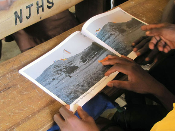 Ghana children's verbal stories turned into school books