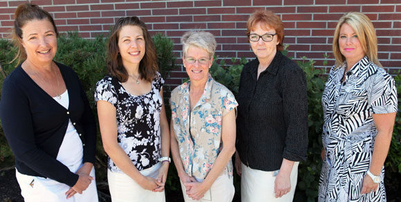 Dr. Carol Laberge and research team members Susan Holtzman, Kathy Rush, Linda Hatt and Louann Janicki will investigate cardiovascular care in rural areas.