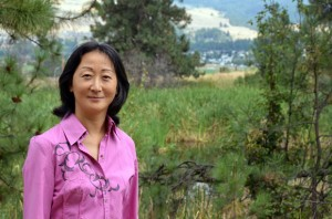 Grace H. Fan, assistant professor of strategy and entrepreneurship, in the Faculty of Management at UBC's Okanagan campus.