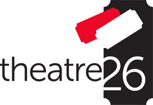 Theatre 26 logo -- summer 2014