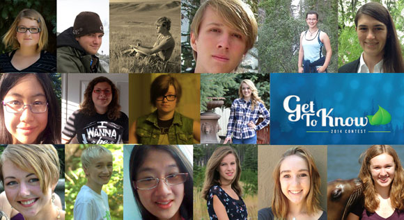 Youth finalists from across North America will attend the Get to Know Unconference Oct. 3 to 5, hosted by UBC.