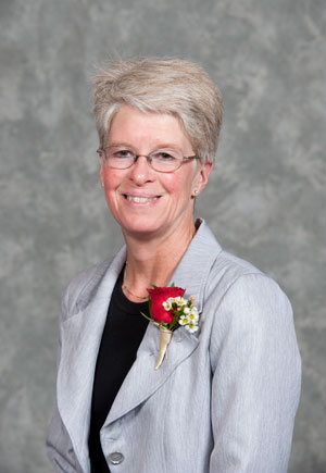 Kathy Rush, associate professor of nursing
