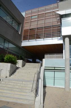 UBC Okanagan's energy-efficient Arts and Sciences Centre.