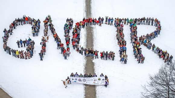 About 400 student engineers participate in the annual Great Northern Concrete Toboggan Race (GNCTR), a national event hosted by a different university every year.