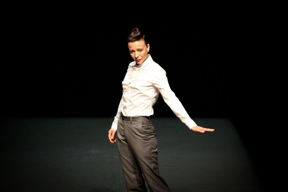 Dancer Lisbeth Gruwez will perform 'It's going to get worse and worse and worse my friend...' January 16 and 17. The production is part of UBC Okanagan's Faculty of Creative and Critical Studies performance series.