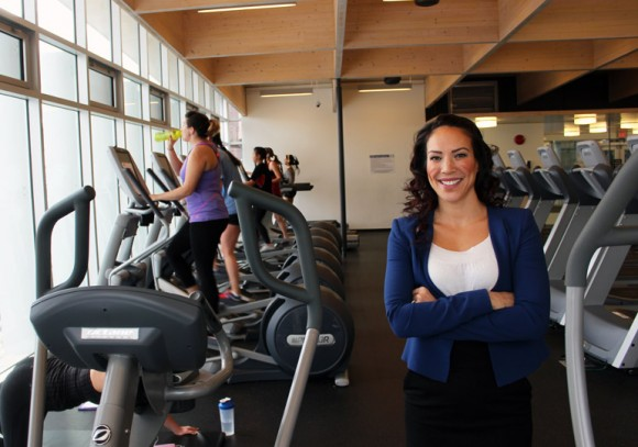 Mary Jung, assistant professor with the School of Health and Exercise Sciences.