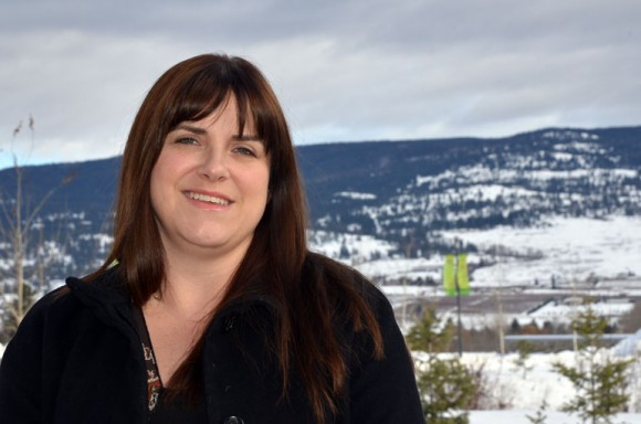 Erin McPhee was the first student to register for UBC Okanagan's revised Master of Science in Nursing program.