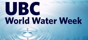 World Water Day celebrations at UBC next week