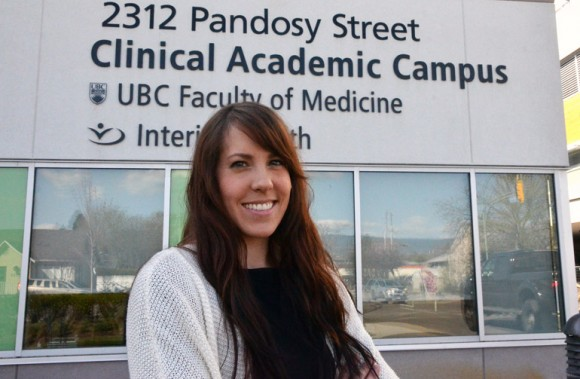 Alex Bond, a member of the first class of graduates from UBC's Southern Medical Program.