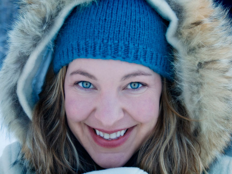 Coldstream artist Laisha Rosnau is the author of three poetry collections, Pluck, Lousy Explorers, and Notes on Leaving and her novel, The Sudden Weight of Snow. She is one of several authors performing at the second-annual Beat Salad event this Friday.