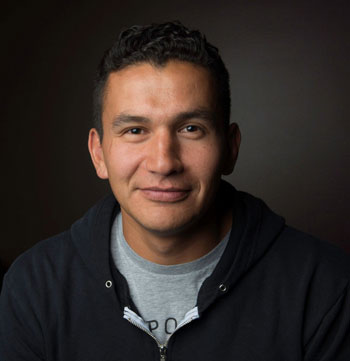 Award-winning musician, journalist, and writer Wab Kinew will talk about his new book The Reason You Walk when he visits Kelowna September 30. Kinew is the next speaker in UBC Okanagan's Distinguished Speaker Series. Photo courtesy of: Katelyn Malo