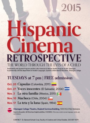 ¡Bravo! This year's Hispanic Cinema Retrospective ready to roll