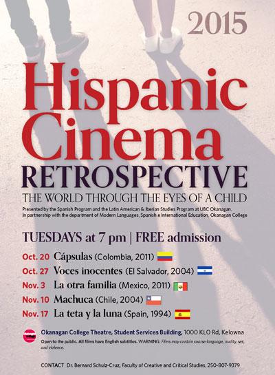 Hispanic Cinema Retrospective poster