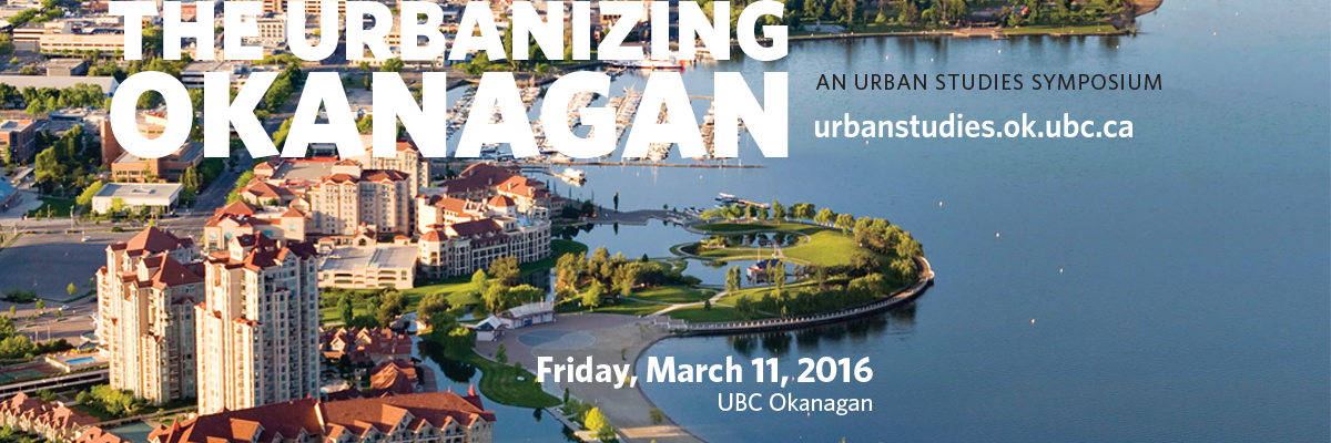 The Urbanizing Okanagan