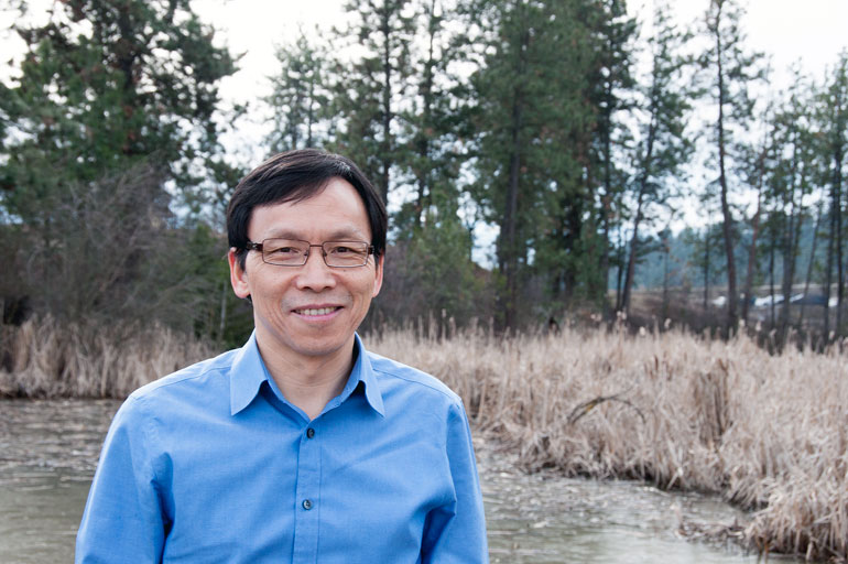 UBC Professor of Earth and Environmental Sciences Adam Wei.