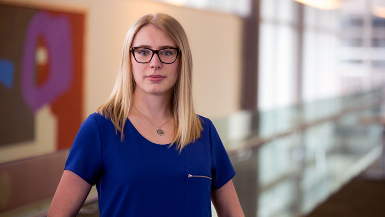 UBC Okanagan student Michelle Thiessen is heading to New York to participate in the United Nations General Assembly Special Session on Drugs.