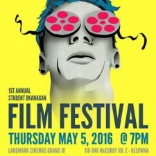 : Student Okanagan Film Festival poster