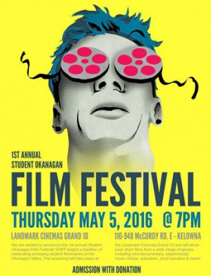 Student Okanagan Film Festival to be launched by UBC's Creative Studies