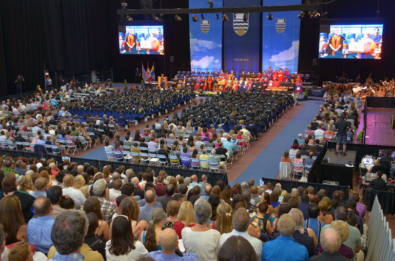 Convocation takes place June 9 and 10 at UBC's Okanagan campus.