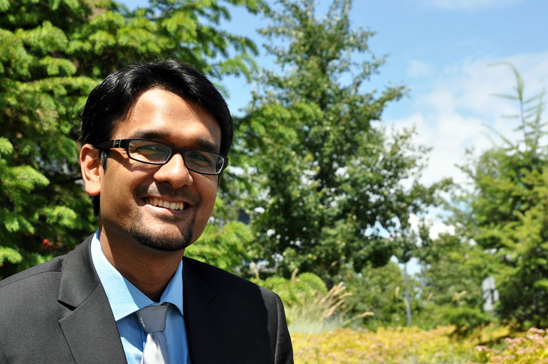 UBC's Muntasir Billah has won the 2016 UBC Governor General's Gold Medal—recognition reserved for the student with the highest academic achievement in the College of Graduate Studies.
