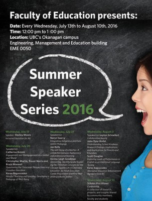 Summer Speaker Series explores new ways to educate the next generation