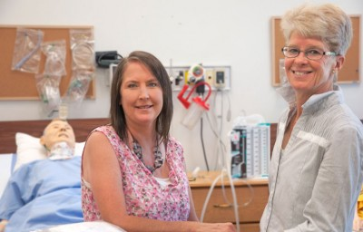 UBC professors, Rachelle Hole (left) and Kathy Rush have shown that older adults who have been discharged from the hospital following serious ailments tend to minimize or even lie about the risks related to their condition.