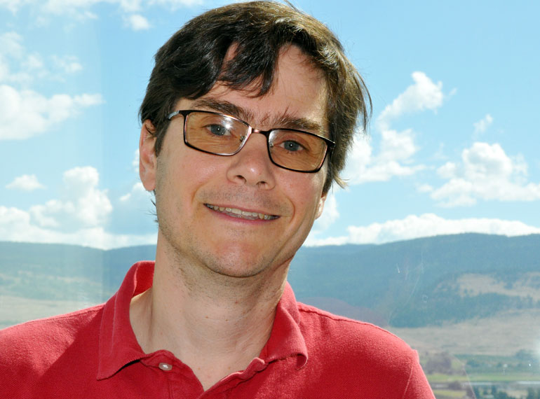 Rudolph Seethaler is an associate professor of mechanical engineering at UBC's Okanagan campus.