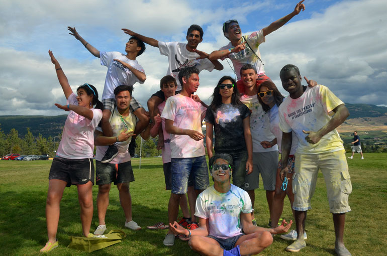There are a number of ice-breaker activities planned for September 6, including the annual colour run; a fun event that helps raise funds for local charity Feed the Valley.