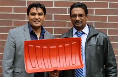 UBC's Rehan Sadiq (left) and Kasun Hewage.