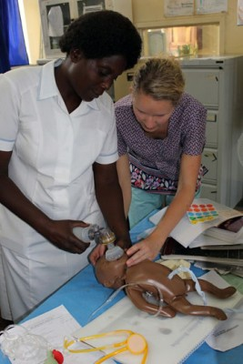 While working in a rural clinic in Zambia, UBC nursing students work and learn alongside fellow nurses from the host country.