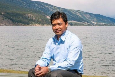 UBC researcher Gyan Chhipi-Shrestha has examined the feasibility of recycling water for laundry, agriculture and fire suppression, easing Canadian's reliance on fresh water lakes.