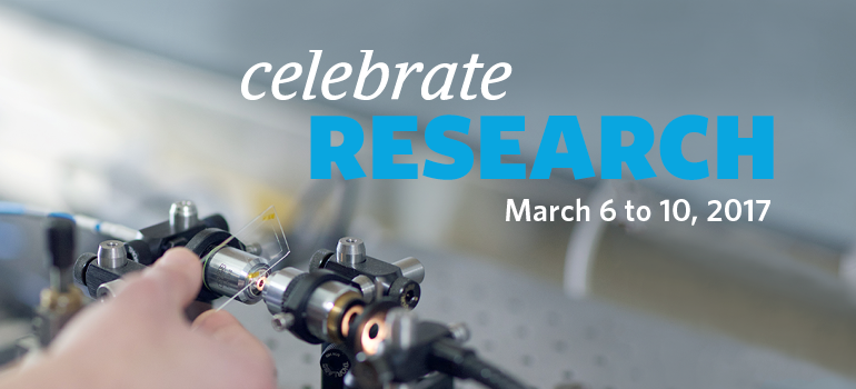 Celebrate Research 2017 spotllight