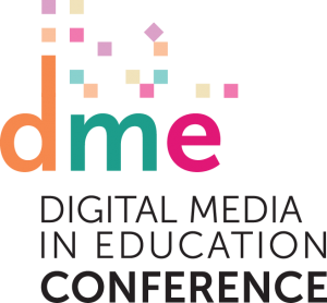 Digital Media in Education conference graphic