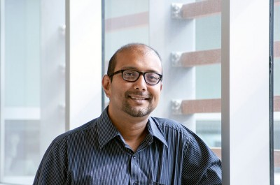 UBC Assistant Professor Sanjoy Ghosh.