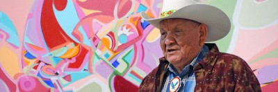 One of Canada's most iconic Aboriginal artists Alex Janvier will be presented with an honorary degree at UBC on June 8.