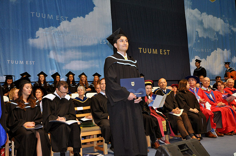 More than 1,650 students will receive their degrees at UBC's Okanagan campus this week.