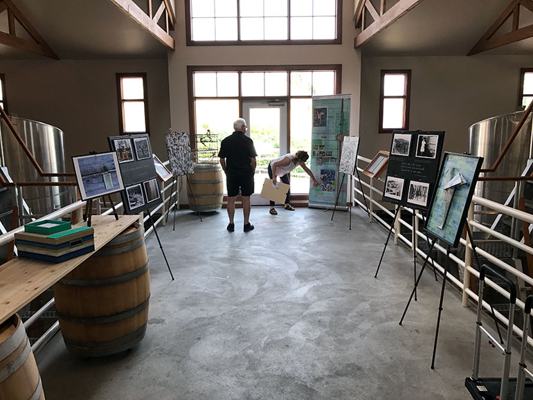 "Appreciating the British Columbia wine territory, an ""exhibit trail"" experience at several wineries, kicked off this month and will run until the end of August."