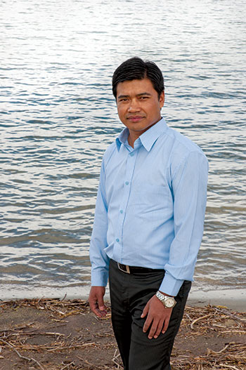 UBC researcher Gyan Chhipi Shrestha says high density communities can make better use of the Okanagan's limited water supply.