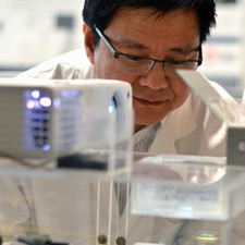UBC Okanagan's Keekyoung Kim has great hopes for the bio-ink he is researching in his lab.