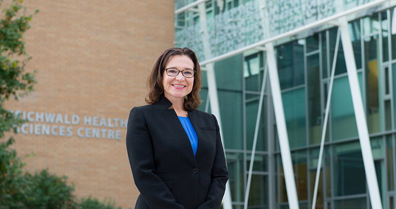 UBC Professor Kathleen Martin Ginis.